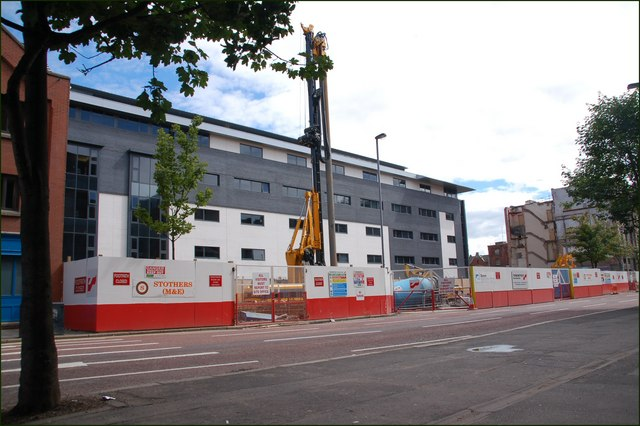 Development site, Victoria Street, Belfast