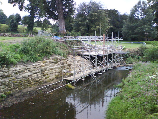 Scaffolding in the River