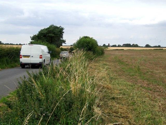 Lowmoor Lane near Horncastle