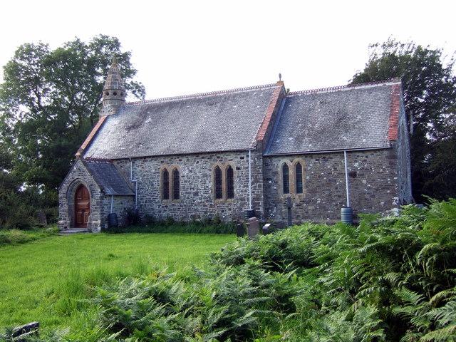 St Michael's church at Eglwyswen