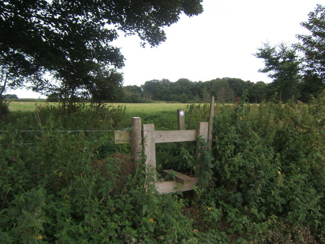 Stile at 'The Belts'.