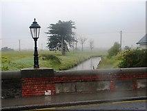 O2342 : Portmarnock Bridge in the Rain by Ian Paterson