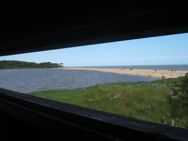 View from hide at Benacre Broad