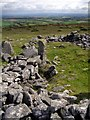 SX2477 : Cairn on Ridge hill, East Moor by Jim Champion