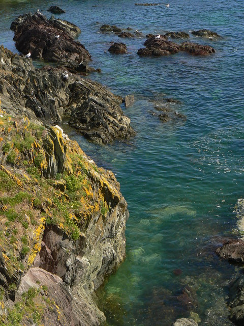 Cove, Looe Island