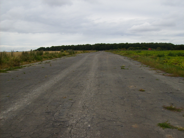 Perimeter track on the former Eastmoor Airfield (disused)