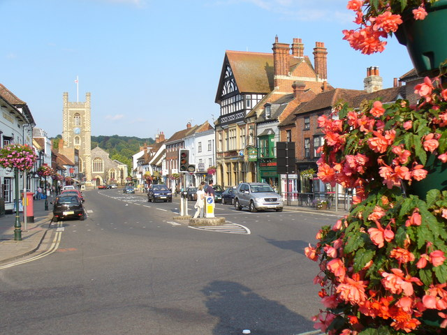 Hart Street, Henley-on-Thames by Colin Smith