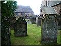 NY0736 : Graveyard, St Mungo's Church, Dearham by Alexander P Kapp