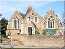 TQ0044 : Holy Trinity Church, Bramley by Clare