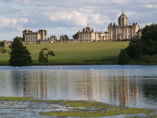 Castle Howard from over the Great Lake
