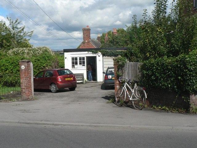 Edington: the post office