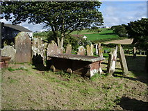 NY0638 : Graveyard, The Parish Church of St John the Evangelist, Crosscanonby by Alexander P Kapp
