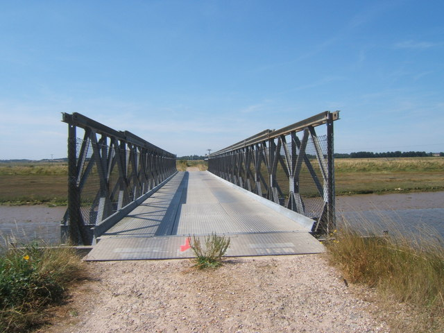 Bailey Bridge over Stony Ditch, Orford Ness