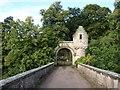 NS8148 : Bridge over Clyde to Milton-Lockhart grounds by David Hamilton