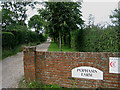 TG0629 : Popham's Farm, Hindolveston Road, Thurning by Zorba the Geek