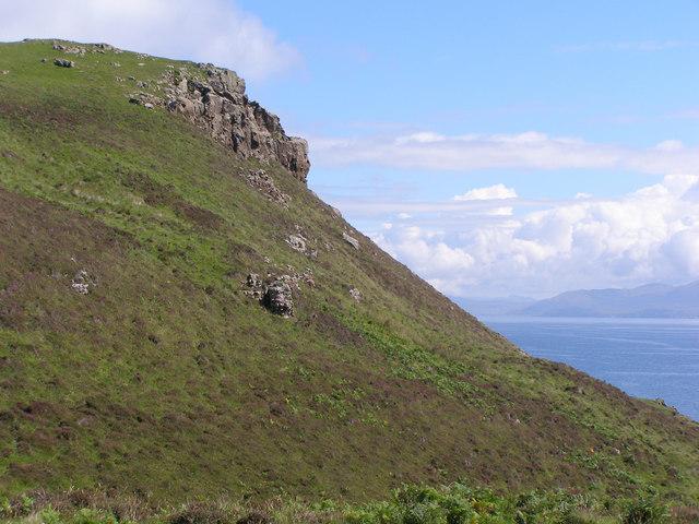 Headland on Muck
