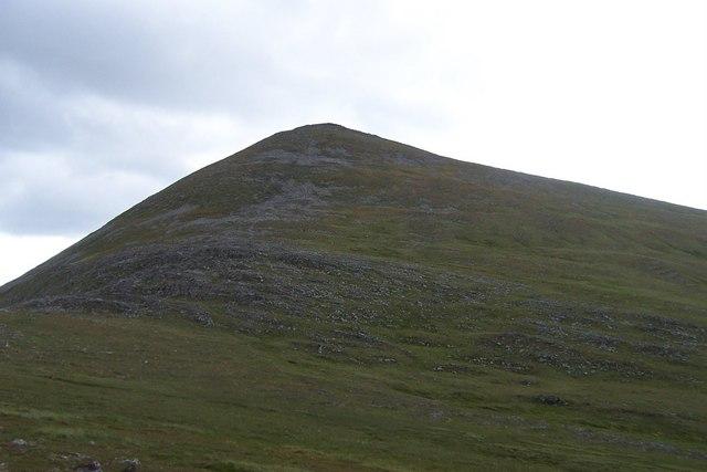 Meall nan Con - Highest point on Ben Klibreck
