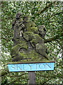 TG2526 : Skeyton Village Sign by Evelyn Simak