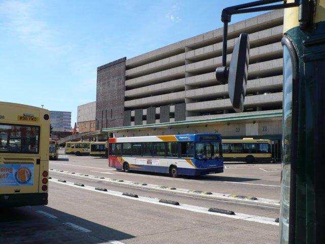 Newport Bus Station by Robin Drayton