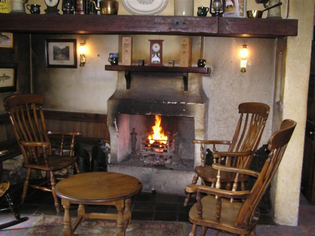 Interior of the Bushmills Inn