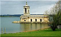 SK9306 : Normanton Church museum Rutland Water. by Steve  Fareham