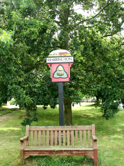 Village Sign, Sharrington