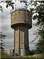 TF8624 : Water tower, West Raynham by Nigel Jones