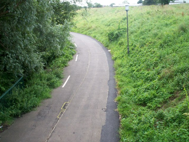 Craigavon Cycle Trail/Footpath near Tullygally Road Roundabout