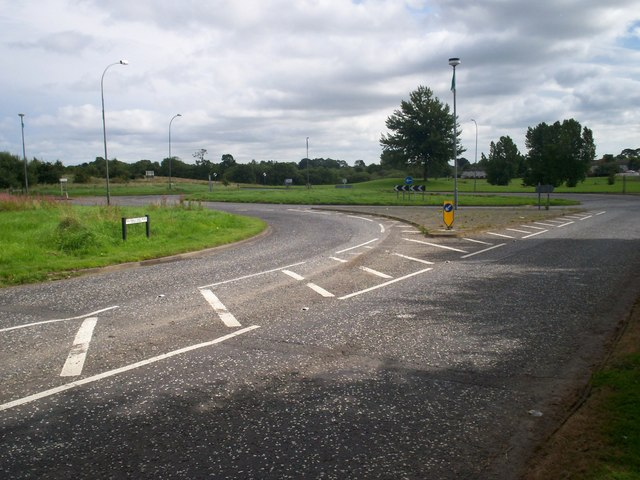 Tullygally East Road Roundabout, Craigavon