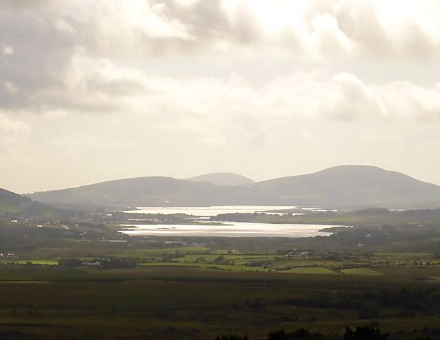 View towards Cahersiveen and Valentia Island