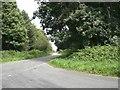 TF8324 : Lane along edge of Gravelpit Wood near former RAF West Raynham by Nigel Jones