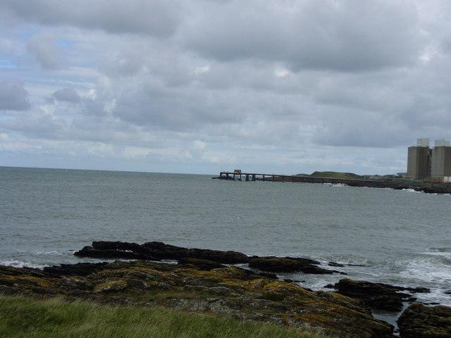 Wylfa Power Station jetty