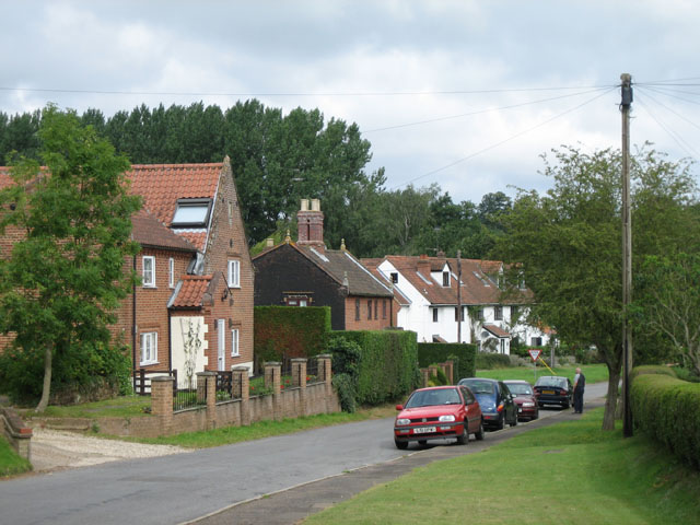 Swannington village street by Zorba the Geek