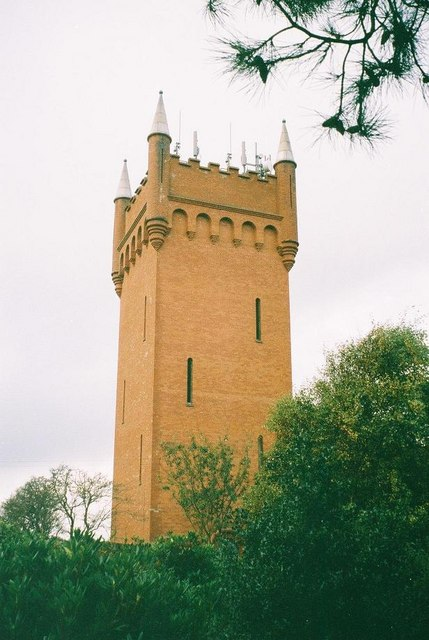 Tuckton: the water tower