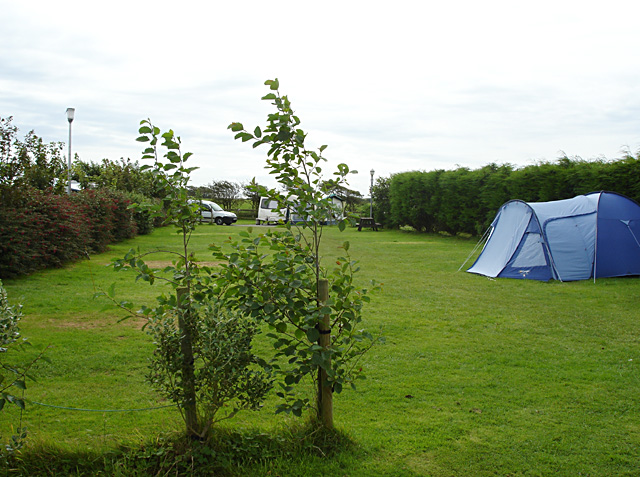 Campsite at St Margaret's
