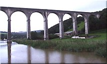SX4368 : The Viaduct, Calstock by Rob Farrow