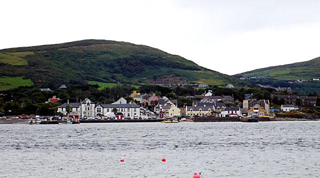 Knight's Town, as seen from Reenard Point