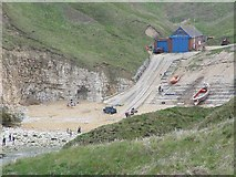TA2372 : The Lifeboat Station, North Landing, Flamborough Head by Peter Church