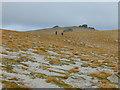 NJ0201 : The plateau of Beinn Mheadhoin by Nigel Brown