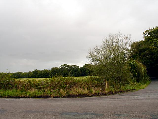 Junction beside St John's Church