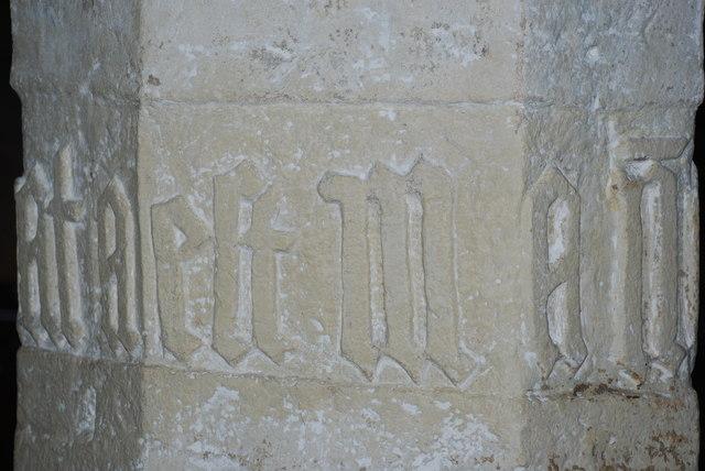 Arysgrifau - Inscriptions Eglwys St Gwynhoedl Llangwnnadl