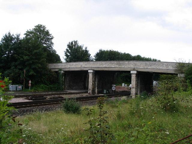 Bridge east of Dorchester South Station