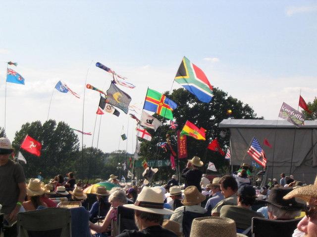 Cropredy Festival flags, 2007