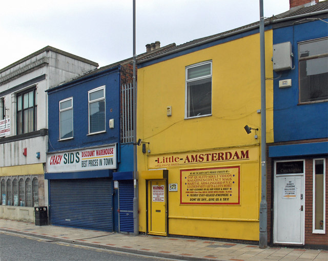 Yellow Shop, Freeman Street, Grimsby