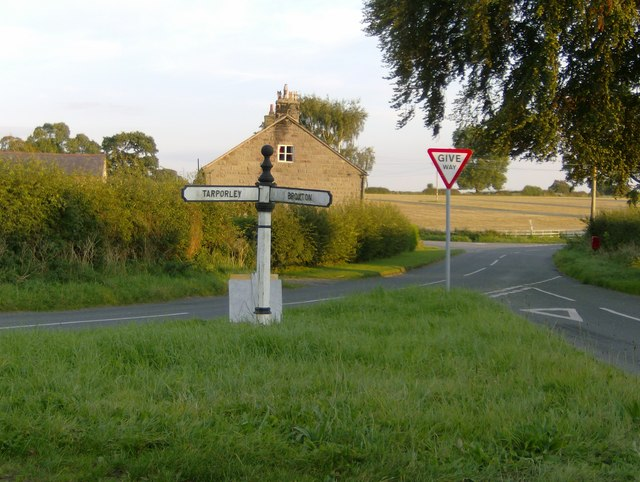 The sign at Ashtons-cross