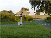 SJ5050 : The sign at Ashtons-cross by Peter Shone