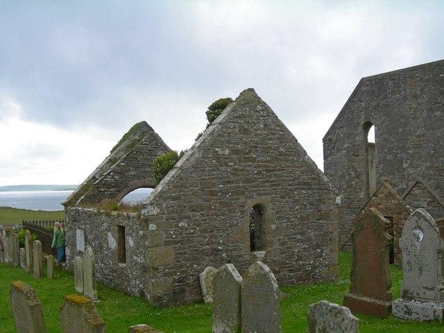 Shapinsay Graveyard, Orkney Islands