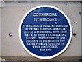 Photo of Thomas Harrison blue plaque
