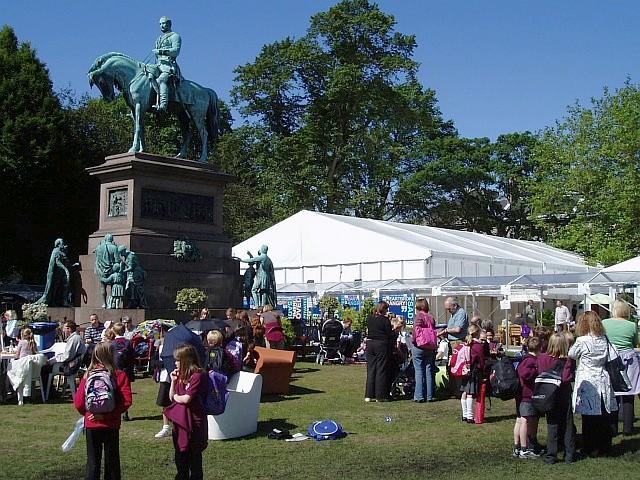 Book Festival in Charlotte Square