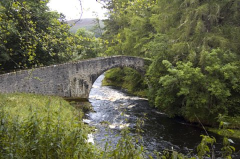 Old Bridge over River Don